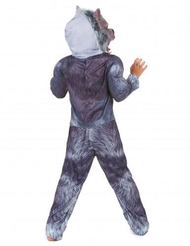 Disfraz de hombre lobo niño-2