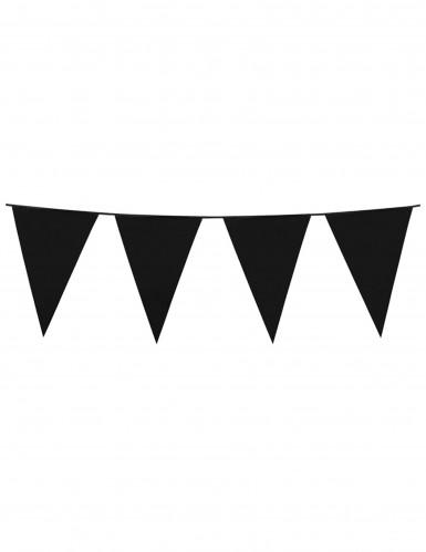 Guirnalda banderines negros 10 m