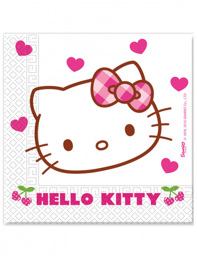 20 Servilletas papel Hello Kitty™