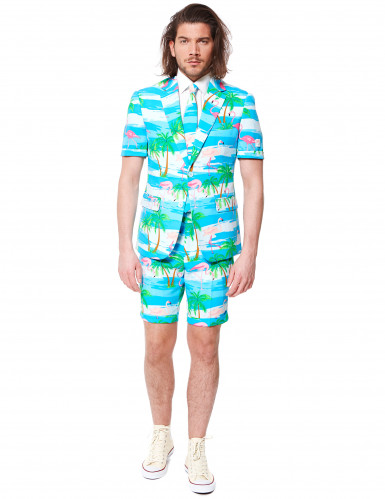 Traje de verano Flamingo hombre Opposuits™