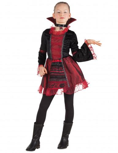 Disfraz vampira gótica niña Halloween