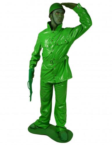 Disfraz Morphsuits™ soldado verde adulto