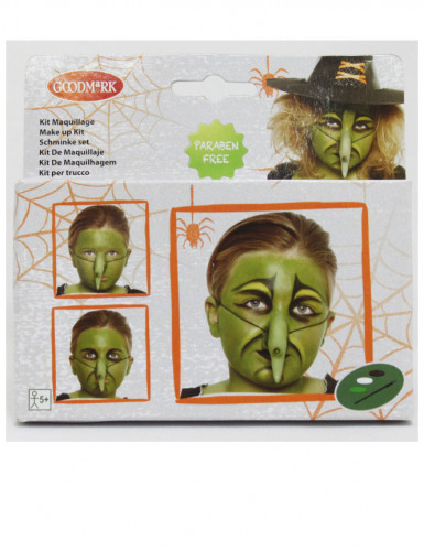 Kit de maquillaje bruja niño Halloween