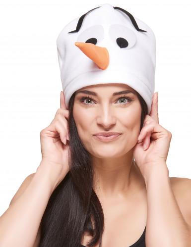 Gorro muñeco de nieve adulto