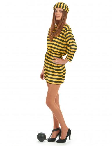 Disfraz de pareja presos amarillo-2