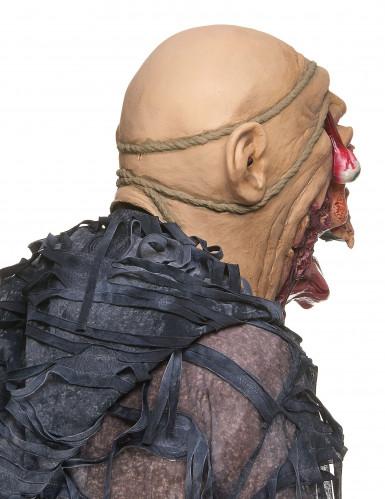 Máscara zombie devorador látex adulto-1