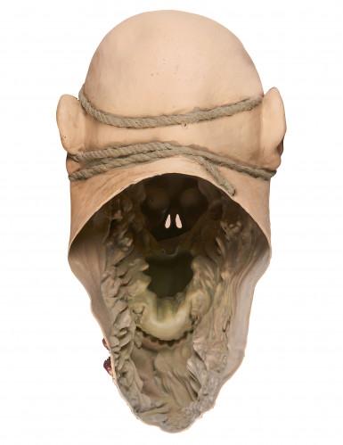 Máscara zombie devorador látex adulto-3