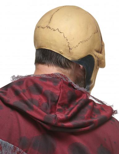 Máscara látex cráneo adulto-1