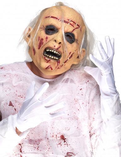 Máscara cadáver látex adulto