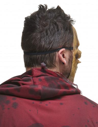 Máscara esqueleto devorador látex adulto-2
