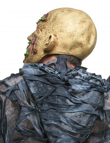 Máscara zombie en descomposición látex adulto-1