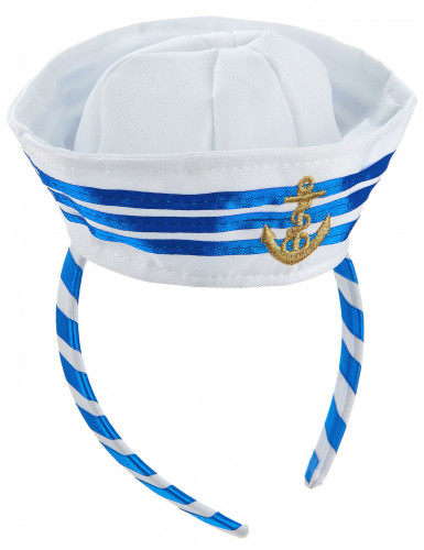 Diadema mini sombrero marinero adulto-1