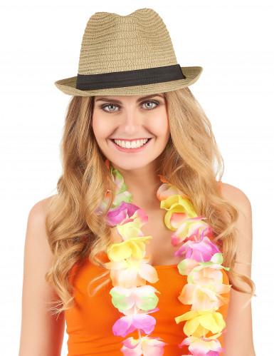 Sombrero borsalino con banda negra adulto-1