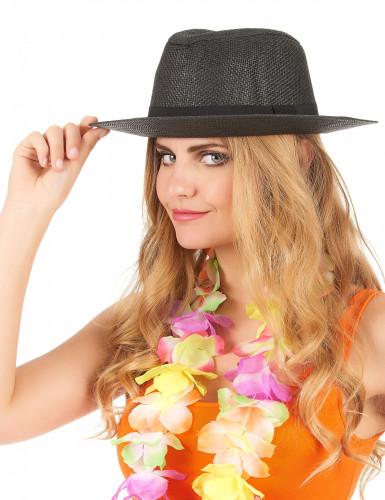 Sombrero Panamá gris adulto-1