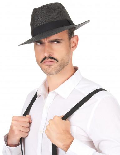 Sombrero Panamá gris adulto-2