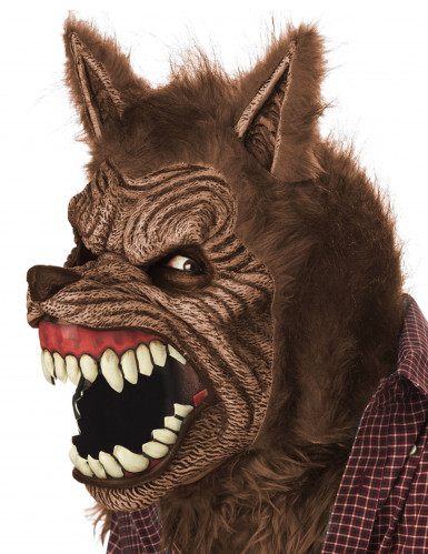 Máscara animada hombre lobo adulto-1
