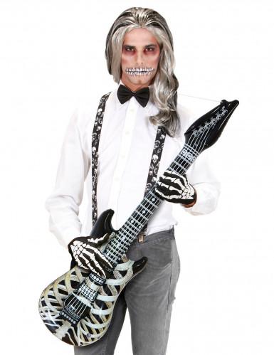 Guitarra esqueleto hinchable 105 cm