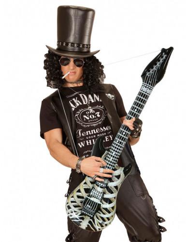 Guitarra esqueleto hinchable 105 cm-1