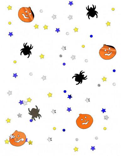 Confetis calabazas y arañas para Halloween