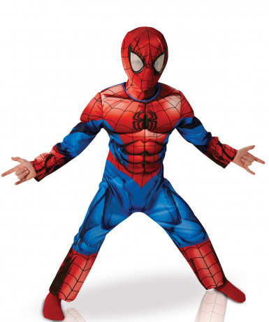Disfraz Ultimate Spiderman™ deluxe niño -New Design