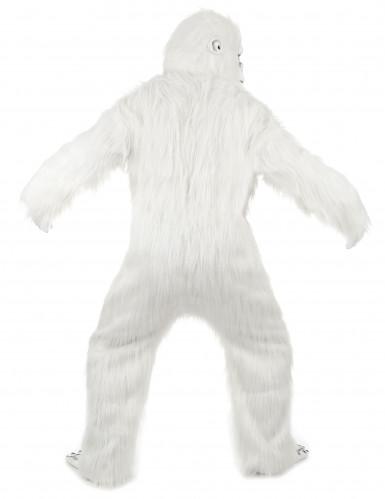 Disfraz lujo Yeti adulto-2