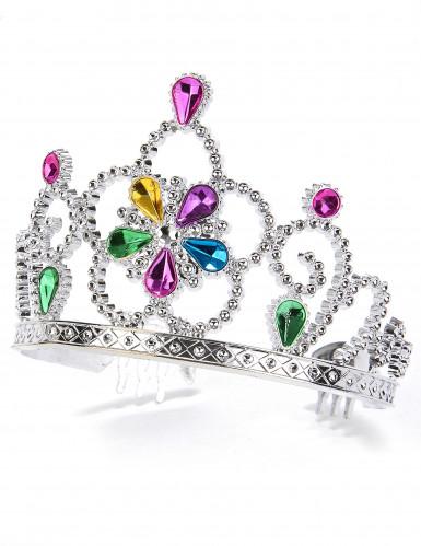 Diadema princesa multicolor adulto y niño
