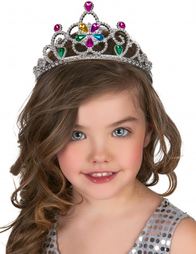 Diadema princesa multicolor adulto y niño-1