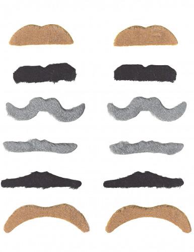 Lote 12 bigotes adulto