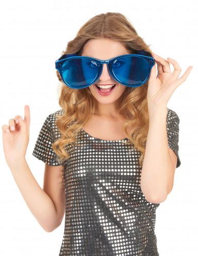Gafas gigantes adulto azul-1