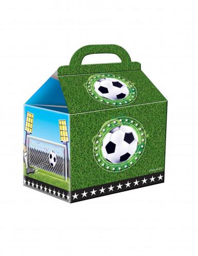 4 Cajas de fútbol