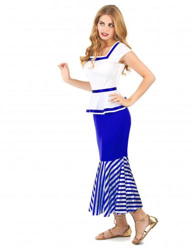 Disfraz de gala blanco y azul mujer-1