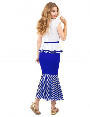 Disfraz de gala blanco y azul mujer-2
