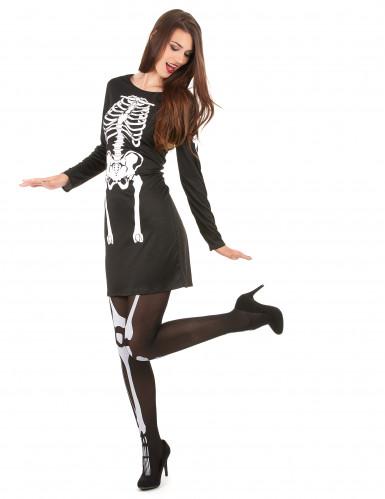 Disfraz de esqueleto mujer Halloween-1