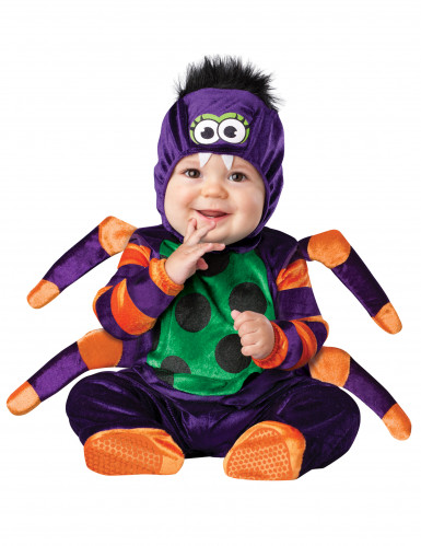 Disfraz araña para bebé-Clásico