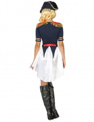 Disfraz de soldado francés mujer-1
