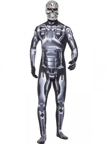 Disfraz T-800 Cyborg Terminator™ adulto