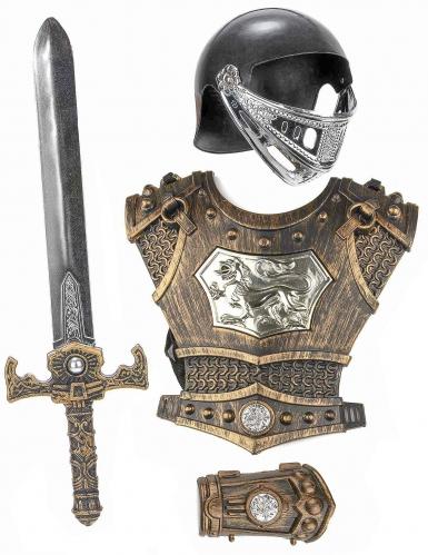 Accesorios de caballero medieval niño