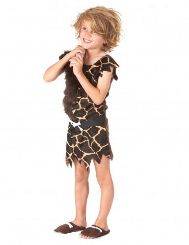 Disfraz de niño de las cavernas mixto-1