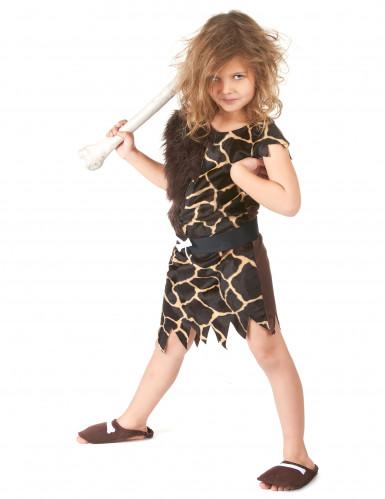 Disfraz de niño de las cavernas mixto-3