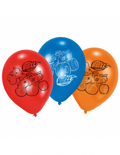 6 Globos de látex Blaze y los Monster Machines™