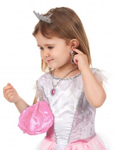 Accesorios princesa rosa niña-2