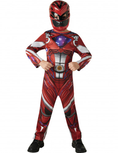 Disfraz Power Rangers™ rojo - Película-1