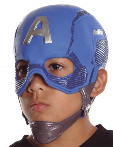 Máscara de Capitan América™ niño