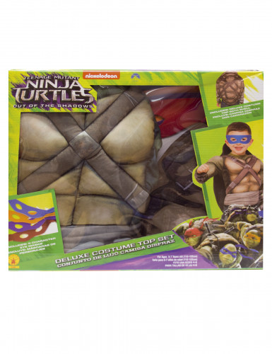 Disfraz Tortugas Ninja™ deluxe musculoso con caparazón caja-1