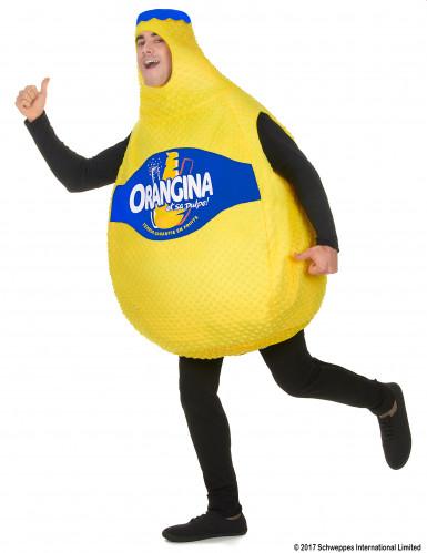 Disfraz botella de Orangina™ para adulto-1