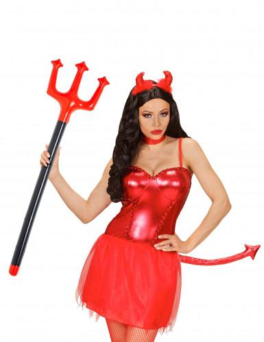 Tridente diablo hinchable 105 cm Halloween