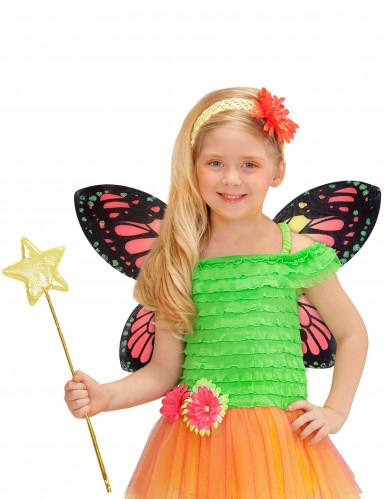 Alas de mariposa multicolor niña-1