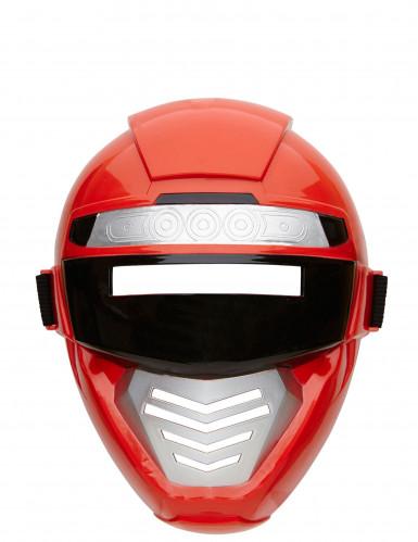 Máscara Power robot rojo niño-1