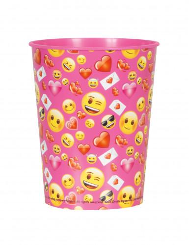 Vaso plástico Emoji™