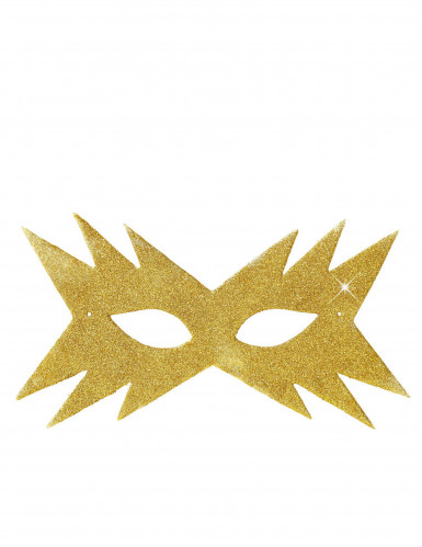 Antifaz dorado estrella adulto-1